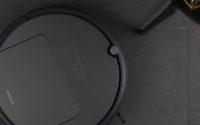 Robot odkurzający Xiaowa E35 Plus za 1253 zł! - Xiaowa E35 na szarych płytkach
