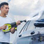 Bezprzewodowa myjka ciśnieniowa Jimmy JW31 - mycie auta