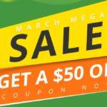 Marcowa wyprzedaż geekbuying.com - zdobądź kupon wart $50