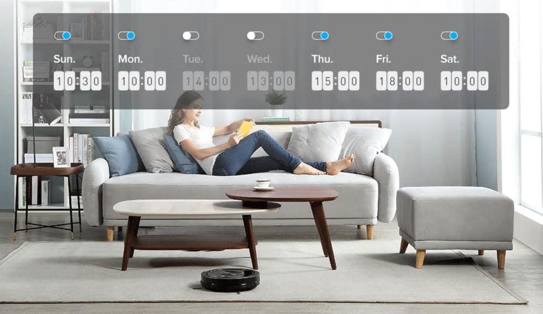 Robot odkurzający iLife A9S już w sprzedaży - iLife A9S - programowanie sprzątania