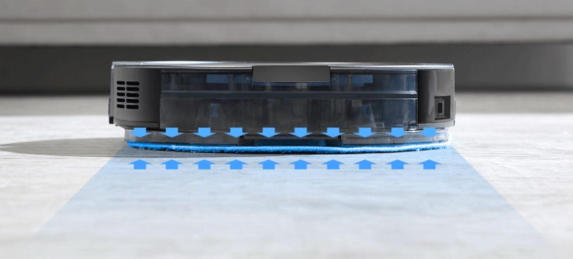 Robot odkurzający iLife A9S już w sprzedaży - mopowanie podłogi w iLife A9S