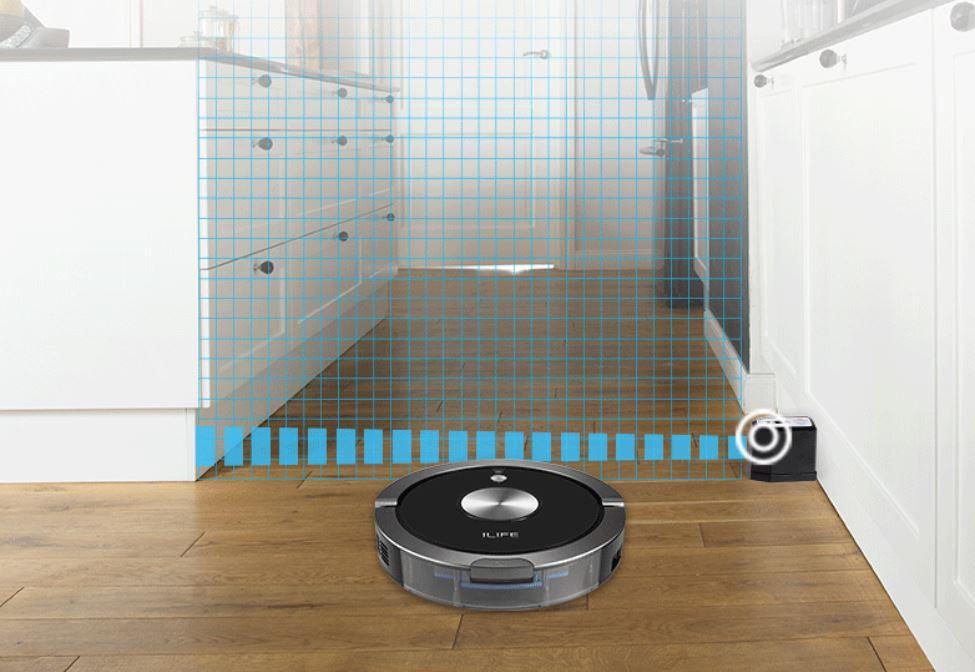 Robot odkurzający iLife A9S już w sprzedaży - wirtualna ściana w iLife A9S