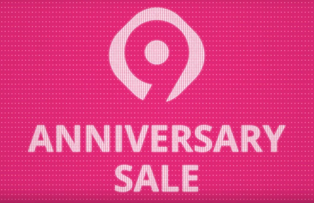 9. rocznica Aliexpress - jubileuszowe logo