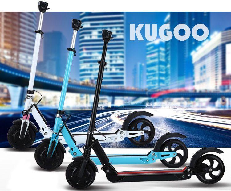 Kugoo S1 - recenzja hulajnogi elektrycznej