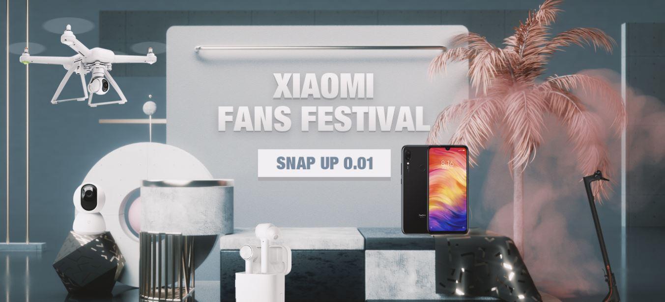 Festiwal fanów Mi - Xiaomi Fan Festiwal Banggood