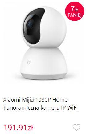 Rewolucja - Gearbest wprowadza płatność przy odbiorze - kamera internetowa IP od Xiaomi