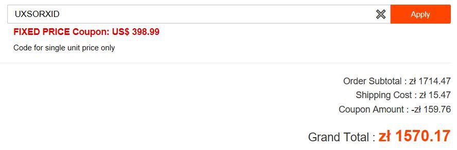 Robot odkurzający Xiaomi Mijia 1S już w sprzedaży - cena na geekbuying z kodem rabatowym z wysyłką Priority Line