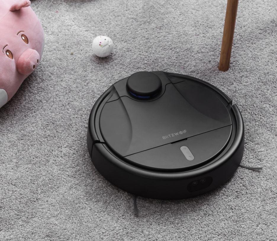 nowe roboty odkurzające na rynku 2019 - BlitzWolf BW-VC1 - nowy robot sprzątający z Banggood