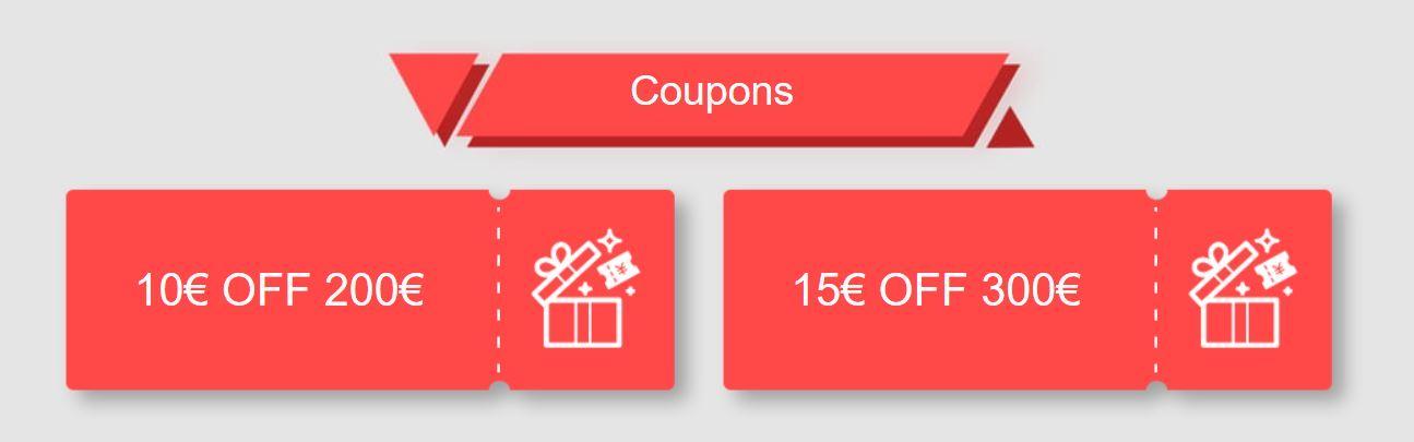 Promocja geekmaxi.com - nawet 15 Euro rabatu - kupony rabatowe