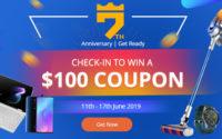 7. urodziny Geekbuying.com - konkursy i kody rabatowe - $100 do wygrania