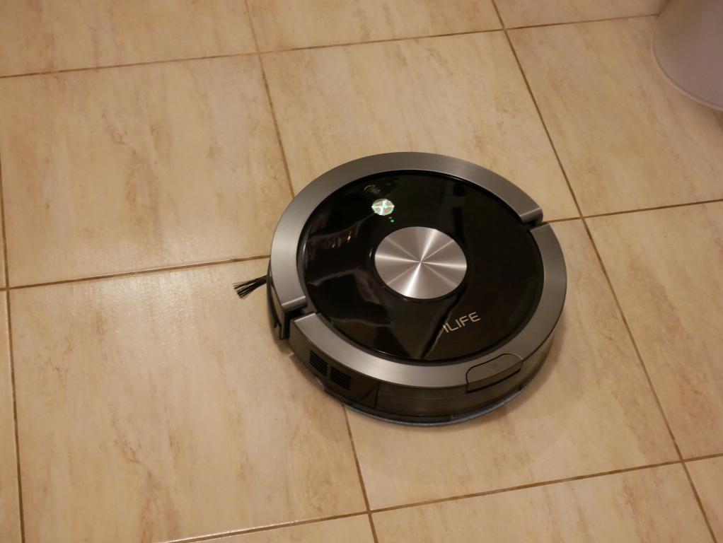 iLife A9S – recenzja robota odkurzającego - mopowanie