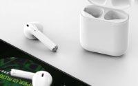 promocja słuchawek bezprzewodowych bluetooth Apods i12 - słuchawki z casem