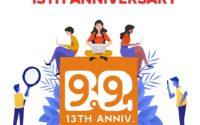 13. urodziny Banggood - logo