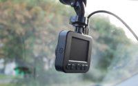 Kamera samochodowa Navitel R200 NV - podłączona kamera
