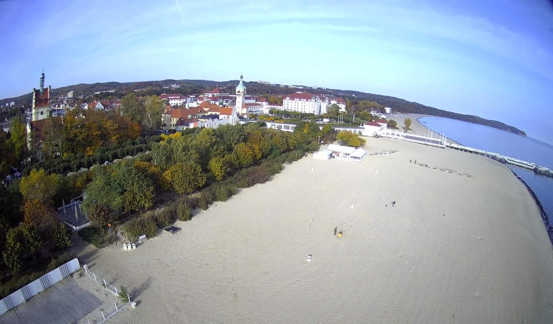 Fotka Sopotu z drona SJ RC F11 PRO