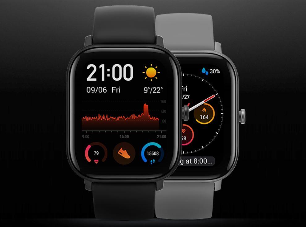 Przedsprzedaż Amazfit GTS - nowy Smart Watch na rynku - wyświetlacz