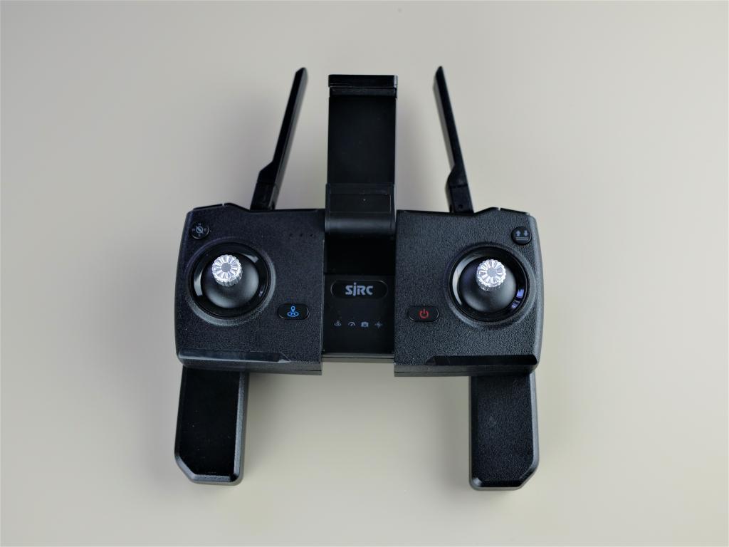 Recenzja drona SJRC F11 PRO - kontroler
