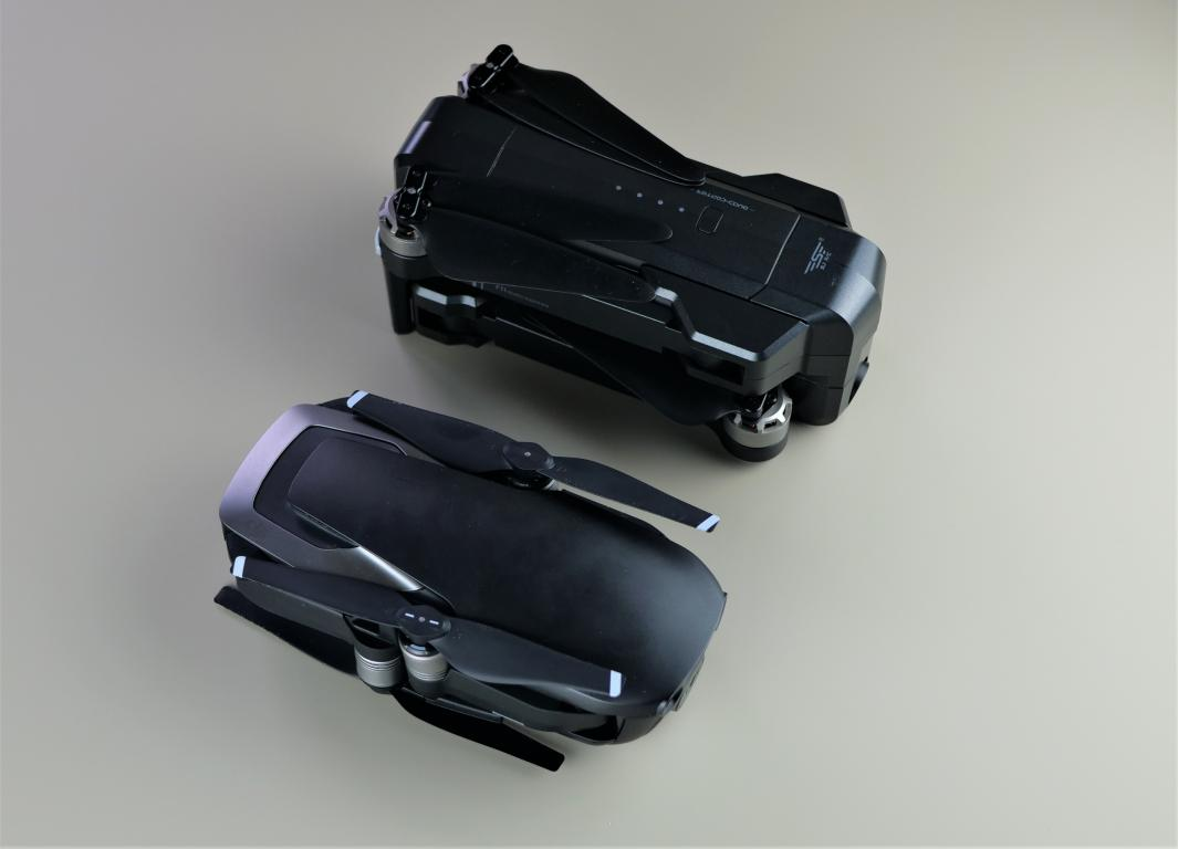 Recenzja drona SJRC F11 PRO - porównanie z DJI Mavic Air