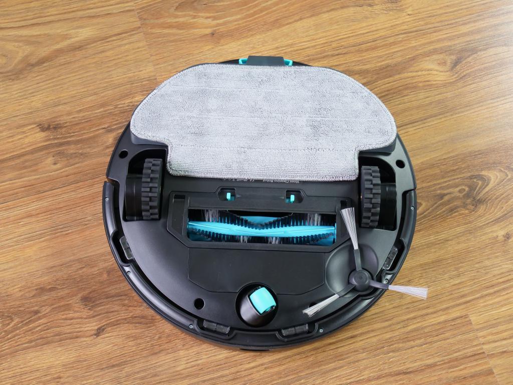 Xiaomi Viomi V2 PRO - recenzja robota odkurzającego - spód robota z mopem