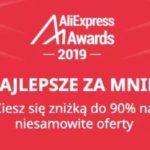 Aliexpress Awards - promocja - najlepsze oferty