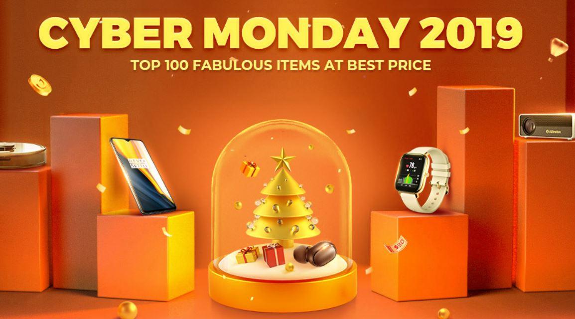 Cyber Monday na Aliexpress i w innych chińskich sklepach - Cyber Monday Gearbest