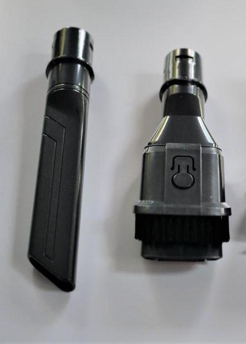 DIBEA F20 Max - recenzja bezprzewodowego odkurzacza o wielkiej mocy - końcówki