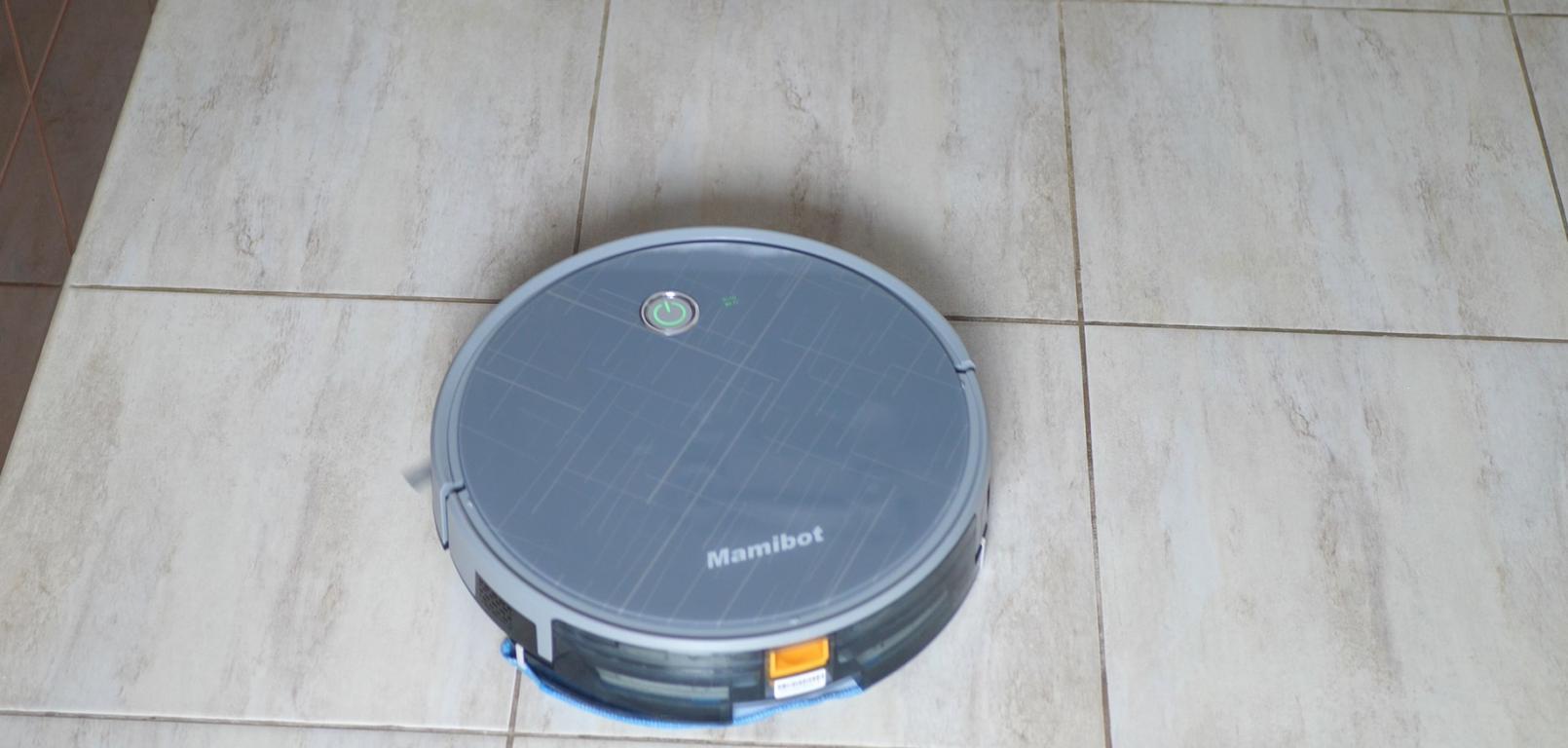 Mamibot Grey - mopowanie płytek