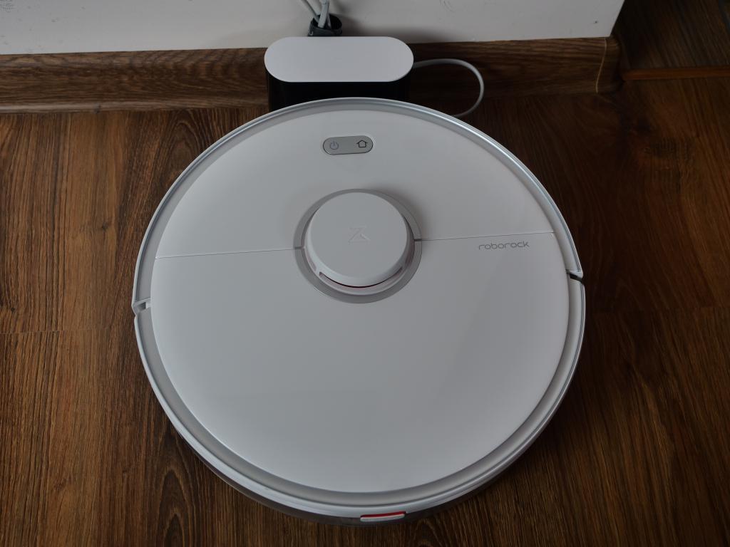 Roborock S5 Max - recenzja - ładowanie