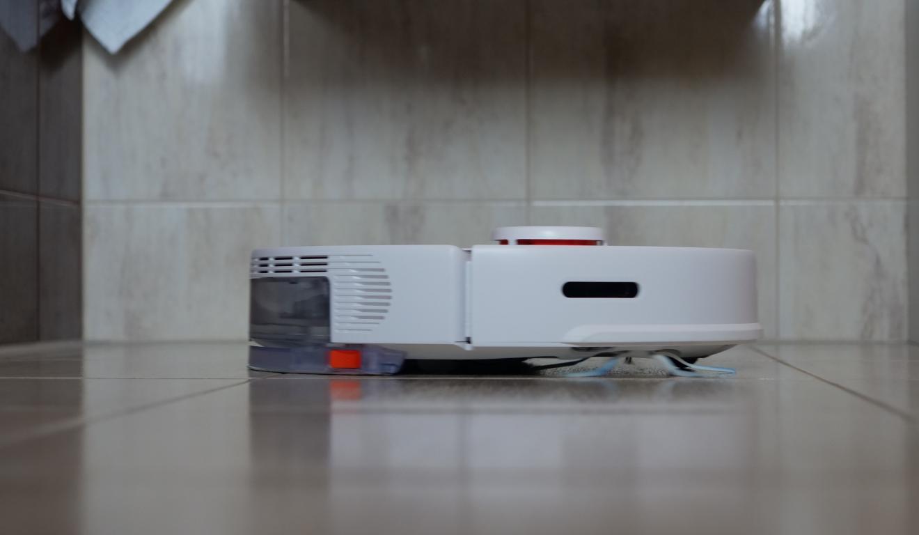 Roborock S5 Max - recenzja - mopowanie