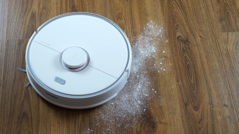 Roborock S5 Max - recenzja - odkurzanie mąki