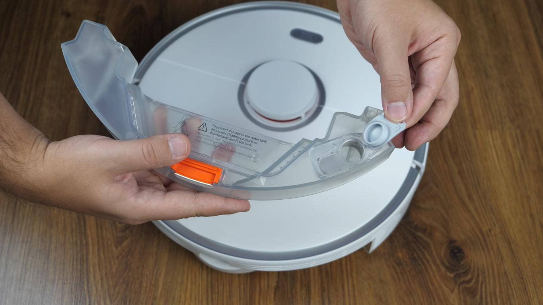 Roborock S5 Max - recenzja - pojemnik na wodę