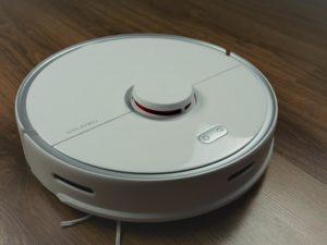 Roborock S5 Max - recenzja - robot z bliska