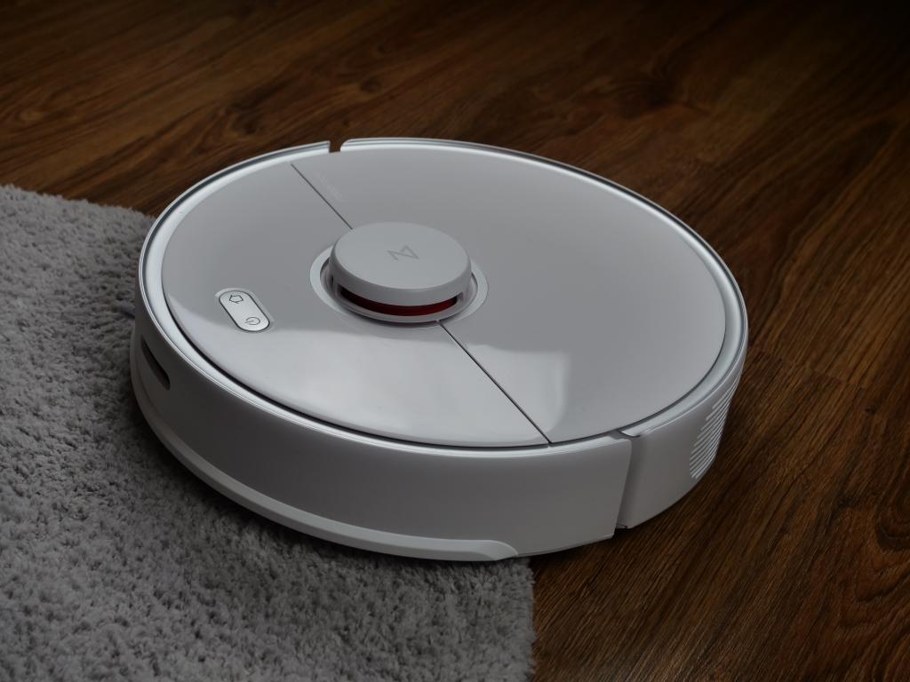 Roborock S5 Max - recenzja - wjazd na dywan