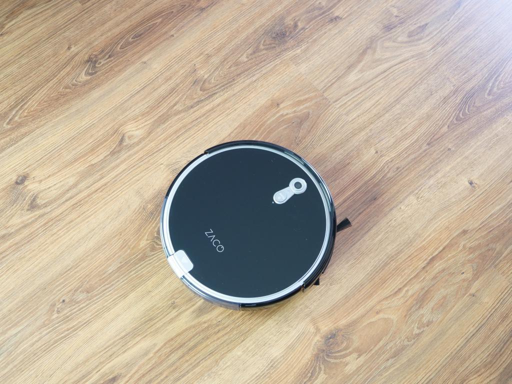 Zaco A8S - recenzja robota sprzątającego - robot z góry