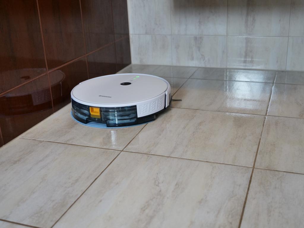 Alfawise V8S PRO - najlepszy robot sprzątający do 700 zł [recenzja] - mopowanie