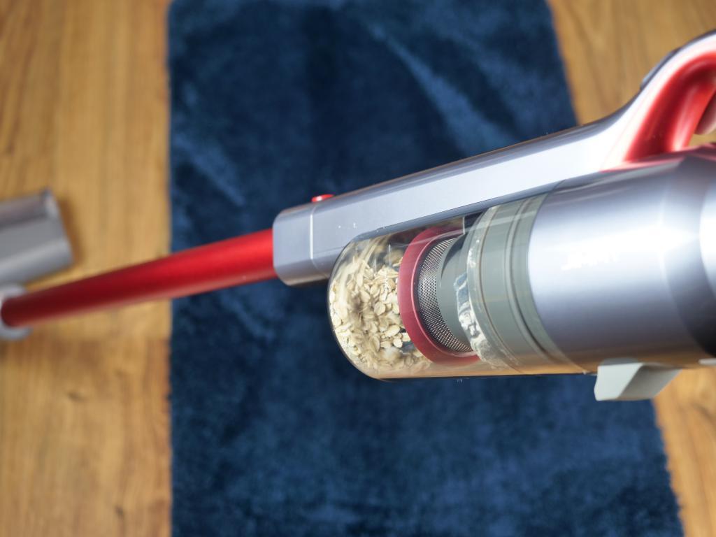 Jimmy JV65 - recenzja odkurzacza pionowego - moc ssąca