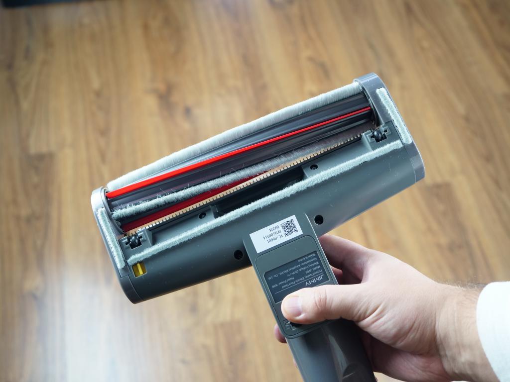 Jimmy JV65 - recenzja odkurzacza pionowego - szczotka do dywanów