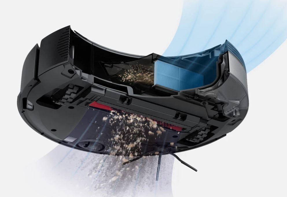 Roborock S5 Max - kod rabatowy - siła odkurzacza
