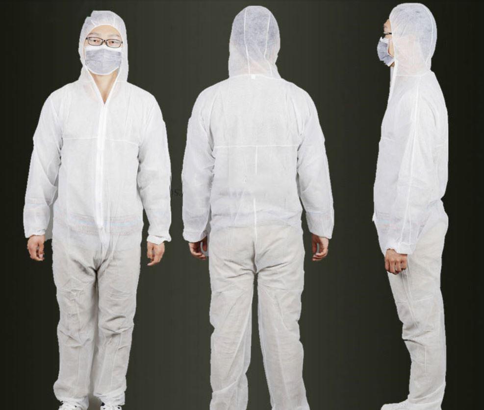 Wyprzedaż artykułów ochorny zdrowia na Aliexpress - epidemia koronawirusa z Chin - kostium zabezpieczający przed wirusem