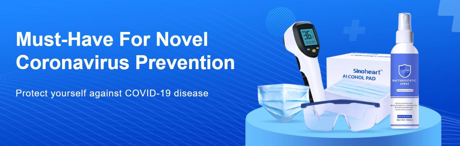Wyprzedaż artykułów ochorny zdrowia na Gearbest.com - epidemia koronawirusa z Chin