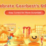 6. urodziny Gearbest.com - promocja - logo promocji