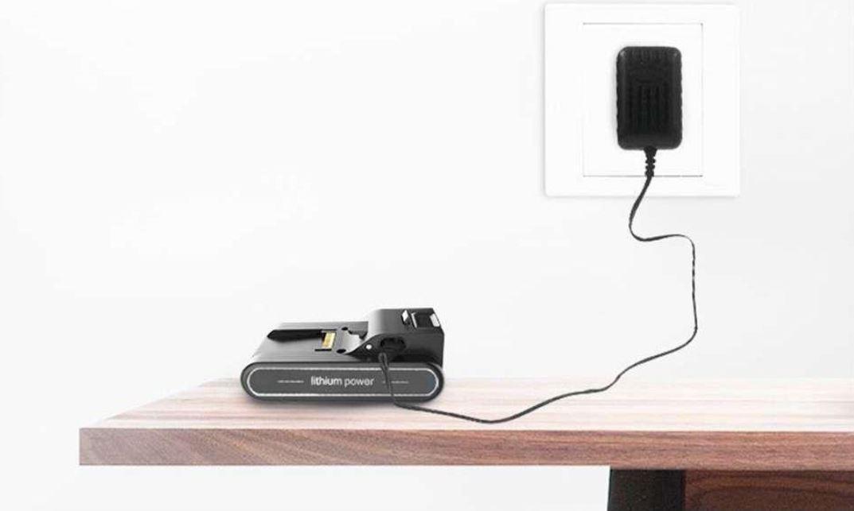 Jimmy JV83 PET - premiera nowej wersji rewelacyjnego odkurzacza pionowego - ładowanie baterii