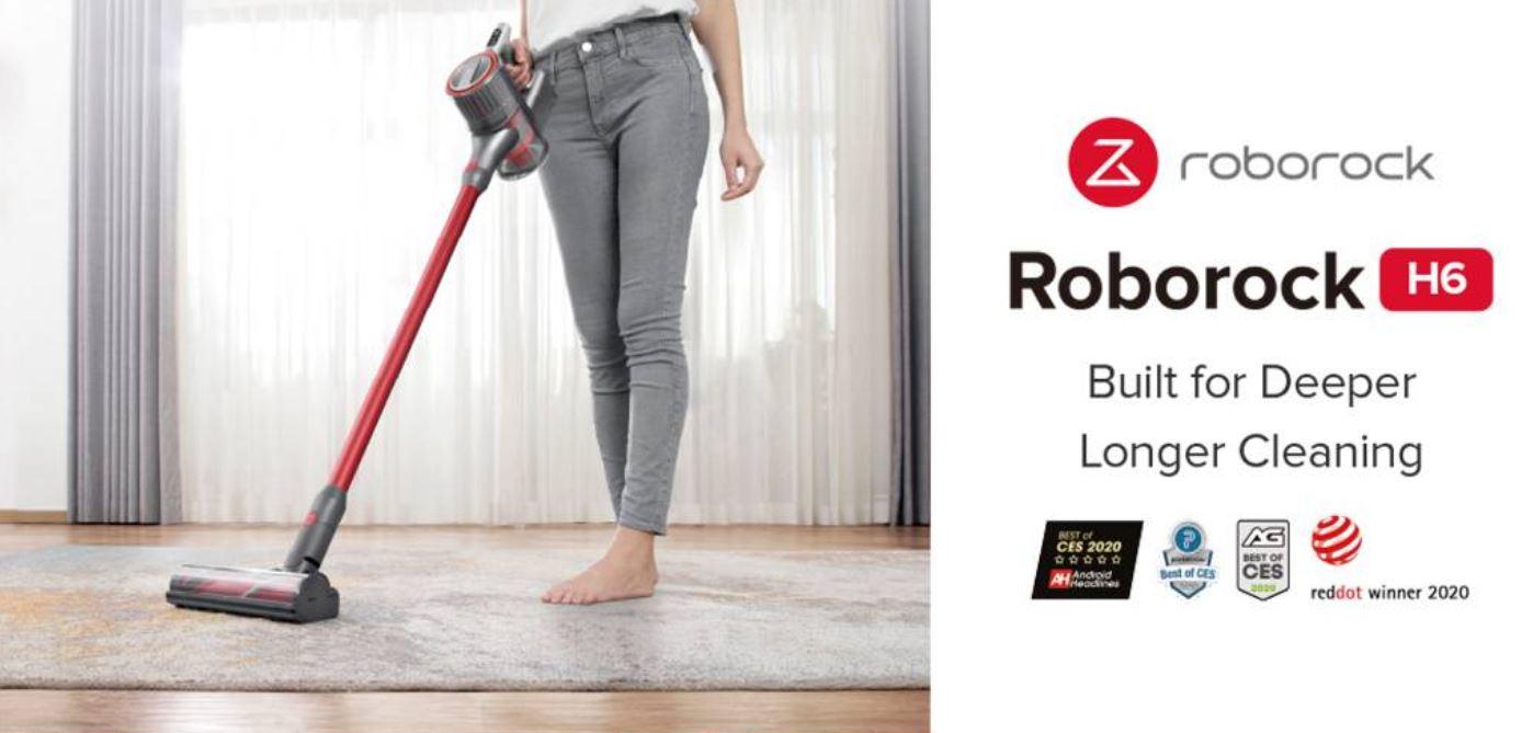 Premiera Roborocka H6 - kod rabatowy do pobrania - nagradzany
