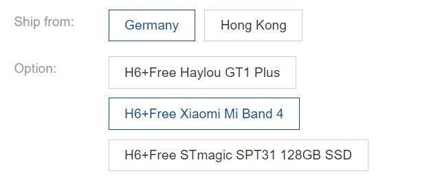 Premiera Roborocka H6 - kod rabatowy do pobrania - wybór gratisu - Xiaomi Mi Band 4