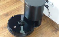 Proscenic M7 PRO - robot sprzątający ze stacją do automatycznego opróżniania pojemnika na kurz - automatyczne opróżnianie pojemnika na kurz