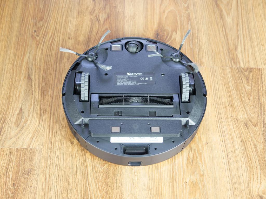 Proscenic M7 PRO - robot sprzątający ze stacją do automatycznego opróżniania pojemnika na kurz - spód robota