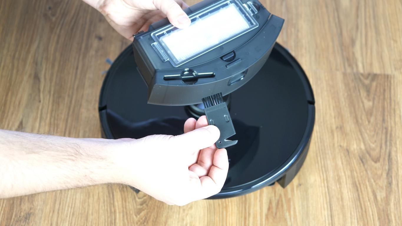 Proscenic M7 PRO - robot sprzątający ze stacją do automatycznego opróżniania pojemnika na kurz - szczoteczka do czyszczenia robota