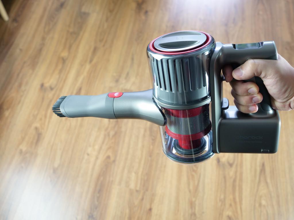 Roborock H6 Adapt - recenzja bezprzewodowego odkurzacza pionowego - mała końcówka z włosiem