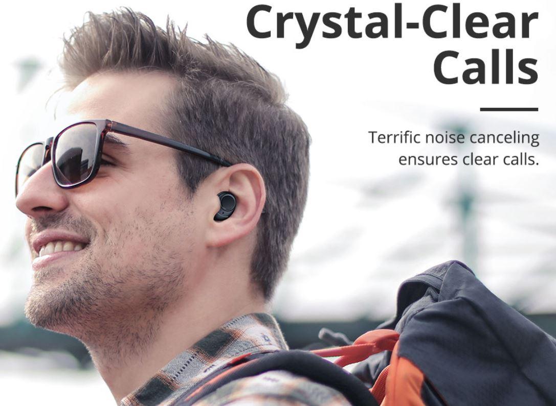 Finał promocji urodzinowej Geekbuying.com - przecena odkurzaczy! - Słuchawki Bluetooth Tronsmart Onyx Free