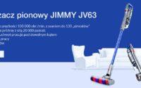Jimmy JV63 - odkurzacz pionowy - promocja geekbuying
